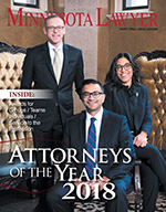 Click above to read the Attorneys of the Year 2018 digital edition.