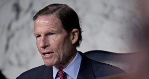 """""""This decision is a tremendous victory and vindication of a common sense reading of the Constitution,"""" Connecticut Sen. Richard Blumenthal said in a statement. """"The court soundly rejected the president's absurd argument that he is above the law."""" (Bloomberg file photo)"""