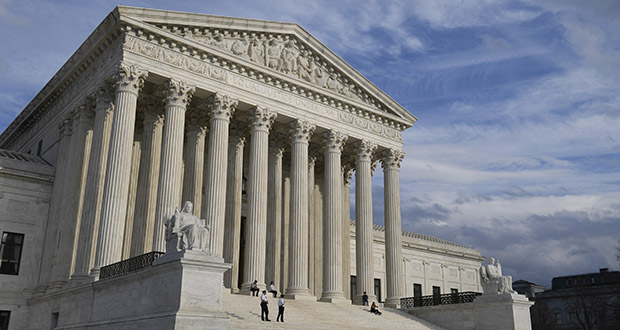 A view of the Supreme Court in Washington. (AP photo)