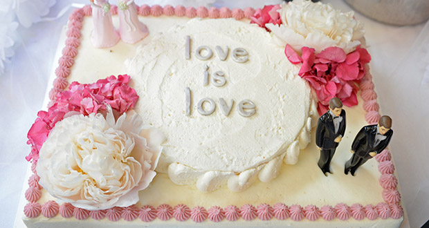 """""""Sweetcakes by Melissa,"""" a now-closed Portland-area bakery owned by Melissa and Aaron Klein, who are Christian, cited religious grounds when it refused to provide a cake for Rachel and Laurel Bowman-Cryer in 2013. (Bloomberg file photo)"""