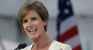 """Co-chair Sally Yates, former U.S. deputy attorney general, says, """"It's one of the few issues in which you do find some bipartisan consensus these days."""" (AP file photo)"""
