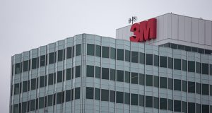 3M Co. headquarters stands in Maplewood. (Bloomberg photo)