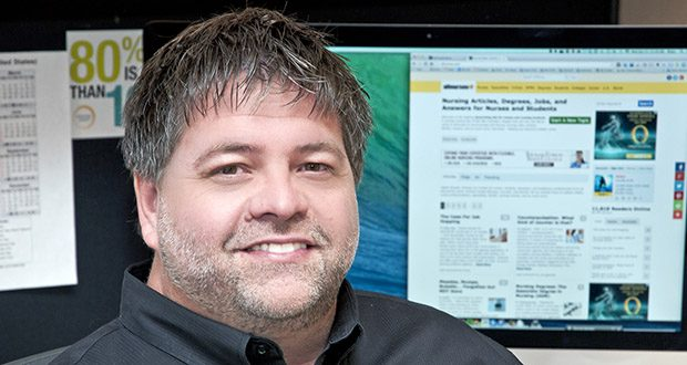 This September 2014 file photo shows Brian Short, photographed for a business column in the Star Tribune in Minneapolis. (Star Tribune via AP)