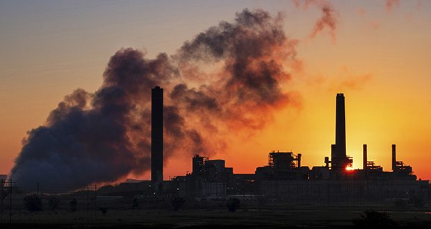 In this July 27, 2018, file photo, The Dave Johnson coal-fired power plant is silhouetted against the morning sun in Glenrock, Wyoming in this 2018 photo. (AP file photo)