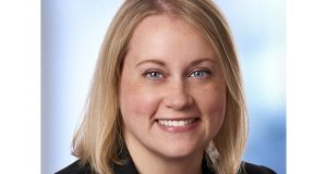 Alyssa Hirschfeld mentors younger women in Gray Plant Mooty's M&A practice group. (Submitted photo)