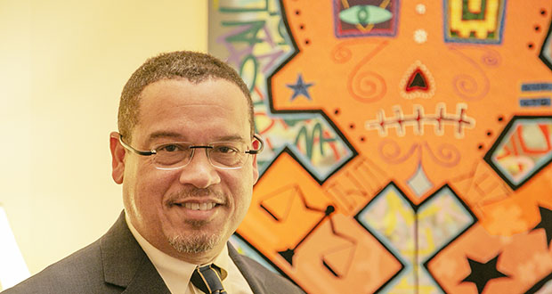 Attorney General Keith Ellison wants lawmakers to staff up his criminal division so he can help local prosecutors pursue more crimes. (File photo)