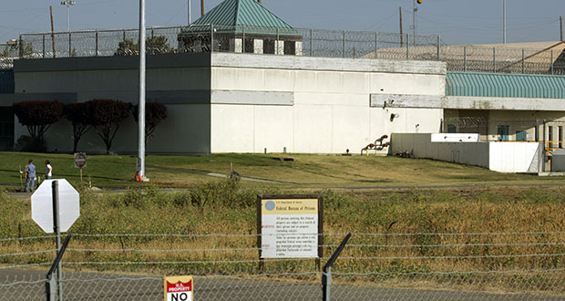 This July 20, 2006, photo, shows the Federal Correctional Institution in Dublin, California. A representative for Felicity Huffman said on Oct. 15 that the actress has reported to the federal prison in California to serve a two-week sentence in the college admissions scandal. (AP file photo)