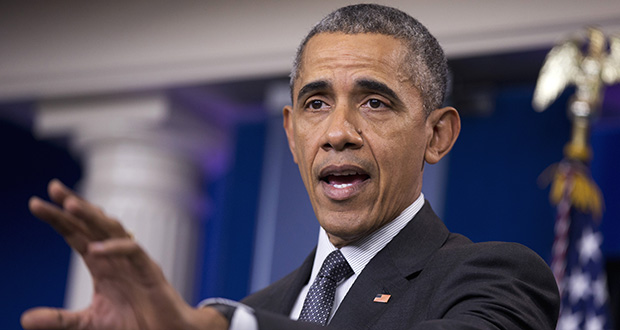 President Barack Obama speaks April 5, 2016, about new rules aimed at deterring tax inversions.(AP file photo)
