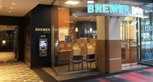 Minnesota Attorney General Keith Ellison announced Monday his office is investigating actions taken by trustees of the Otto Bremer Trust in an ongoing dispute over ownership of Bremer Financial Corp. and Bremer Bank. (Staff photo: Joel Schettler)