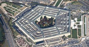 The court challenge means the Pentagon will likely have to delay starting a technology program the Defense Department has called critical to its modernization. (Bloomberg photo)