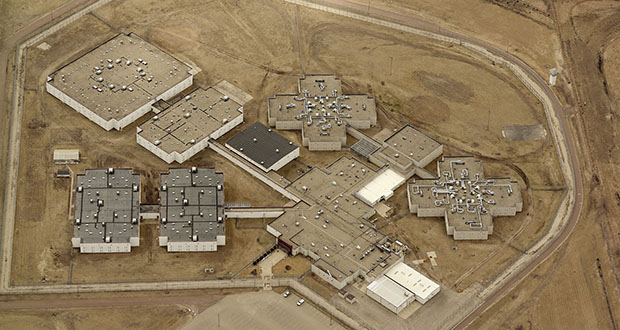 This photo provides an aerial view of the currently closed, privately owned Prairie Correctional Facility in Appleton, Minnesota. (Submitted photo: Swift County)