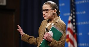 Justices Ruth Bader Ginsburg, 87, pictured, and Stephen Breyer, 81, are the oldest members of the court. (AP file photo)