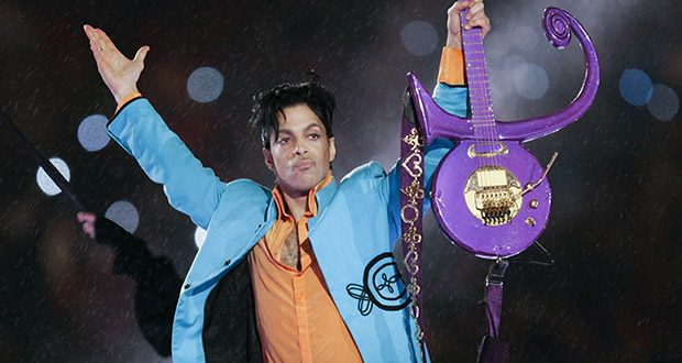 Prince performs during the halftime show of the Super Bowl XLI football game Feb. 4, 2007, at Dolphin Stadium in Miami. He died in April 2016 of an accidental fentanyl overdose at his Paisley Park home in Chanhassen, Minnesota. (AP file photo)
