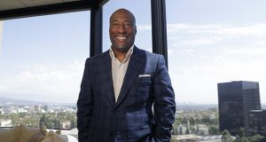Comedian and media mogul Byron Allen poses for a picture Sept. 5, 2019, in Los Angeles. (AP file photo)