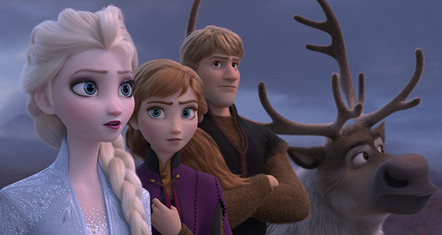 """How many times in a row can a family watch """"Frozen 2"""" before completely breaking down? (Disney via AP)"""
