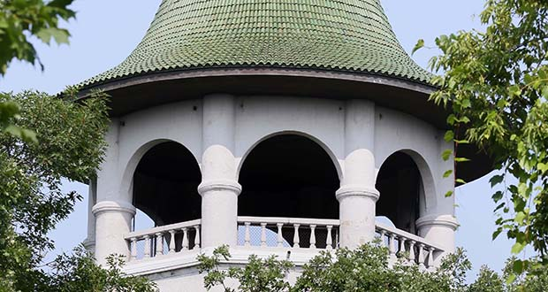 A court of appeals has rejected a suit seeking to block a development that would interrupt the view from Minneapolis' famous Witch's Hat water tower, which is open to the public only one day a year. (File photo: Bill Klotz)