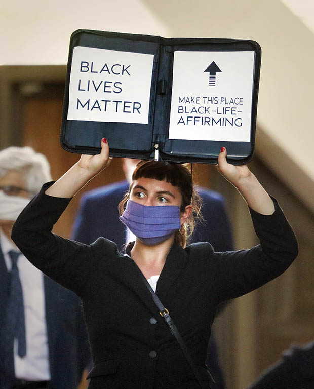 Lawyers unite for racial justice