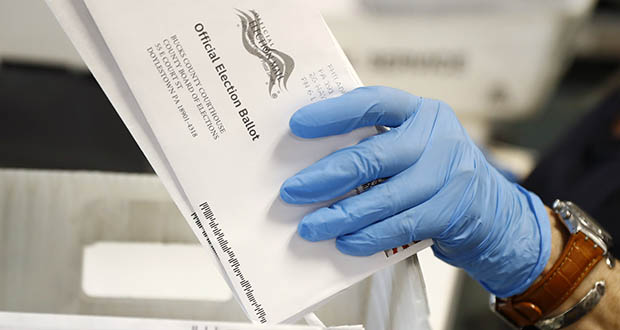 Election 2020 Vote By Mail Spending
