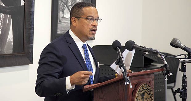 Attorney General Keith Ellison said Atlas Aegis had been under investigation for some time. His office announced the probe Tuesday. (File photo: Kevin Featherly)