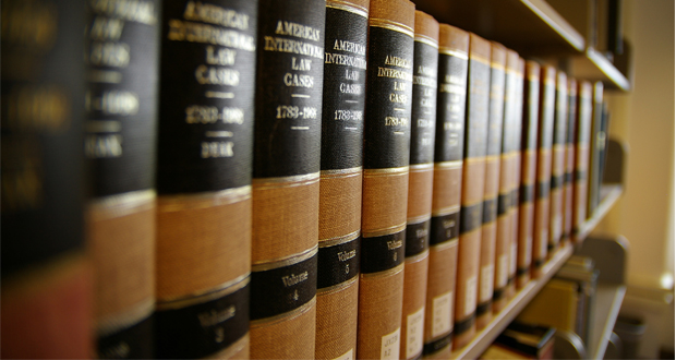 Gavel, Law books
