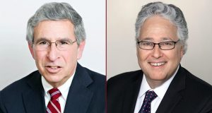 Larry J. Chiat, left, and Alan S. Milavetz (Circle of Excellence honoree)