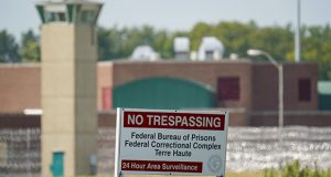 The federal prison complex in Terre Haute, Indiana, shown Aug. 26, 2020, is where federal executions are carried out. (AP file photo)