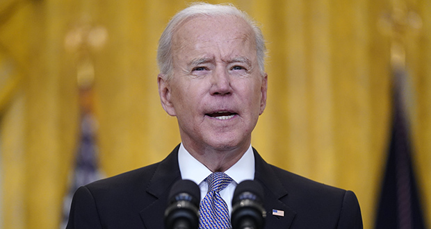 Tuesday's memorandum builds on an executive order President Joe Biden signed on his first day in office establishing an initiative to prioritize equity in government operations. (AP photo)