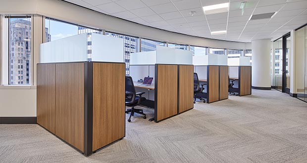 Henson Efron's new office in Capella Tower