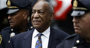 In this Sept. 24, 2018, photo, Bill Cosby arrives for his sentencing hearing at the Montgomery County Courthouse in Norristown, Pennsylvania. (AP file photo)