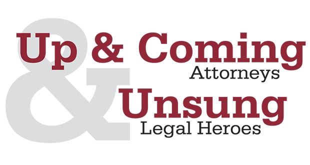 Up & Coming and Unsung Heroes logo