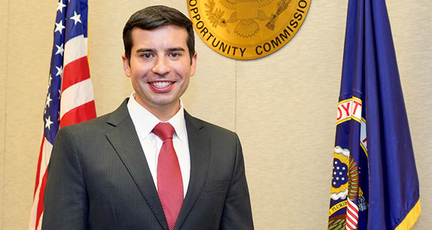 """EEOC Commissioner Keith Sonderling has said that the rule made the process easier for employers by offering them the information needed """"to decide whether it is in their best interest to settle the matter or litigate."""" (Photo: EEOC)"""