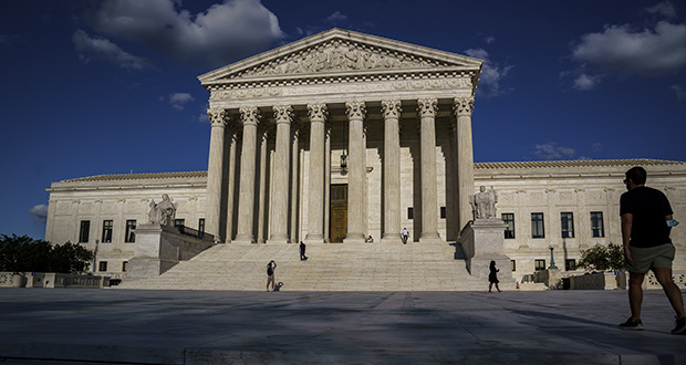 In this Sept. 3 photo, the Supreme Court is shown in Washington. (AP photo)
